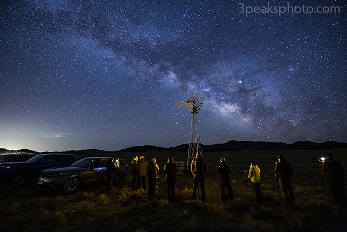 59e4d04b5cc2 Westcliffe Night Sky / Milky Way workshops from 3 Peaks Photography ...